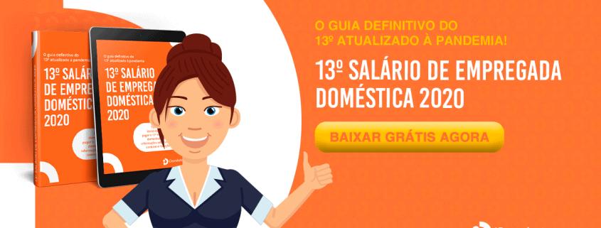 Ebook grátis - 13º salário de empregada doméstica - covid-19